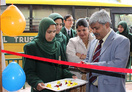 Principal, K.K Sharma inaugurating book fair organised by Scholastic in DPS.