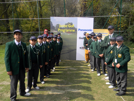 One Day Golf training programme for DPS students