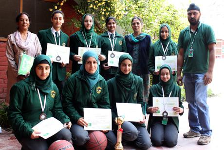 DPS, Srinagar bags Third Position in Inter-DPS Basketball Tournament