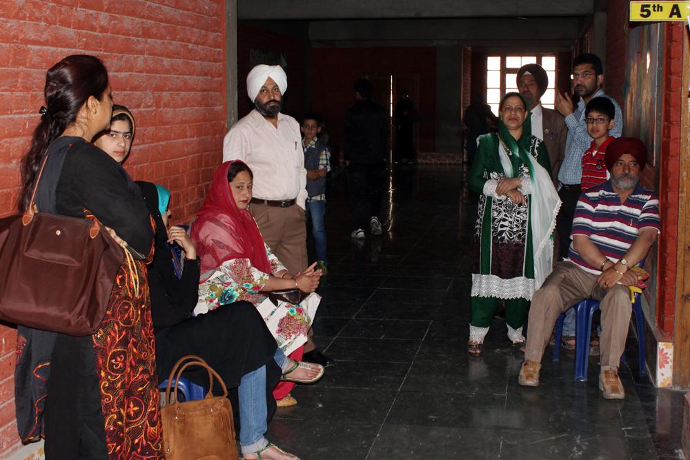 Parent Teacher Meet for Classes LKG to 5th