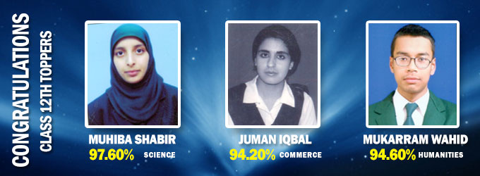 CBSE Class XII Examination 2013 Toppers