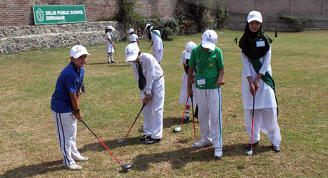 Students Registered for 2nd NIGS Golf Coaching Camp.