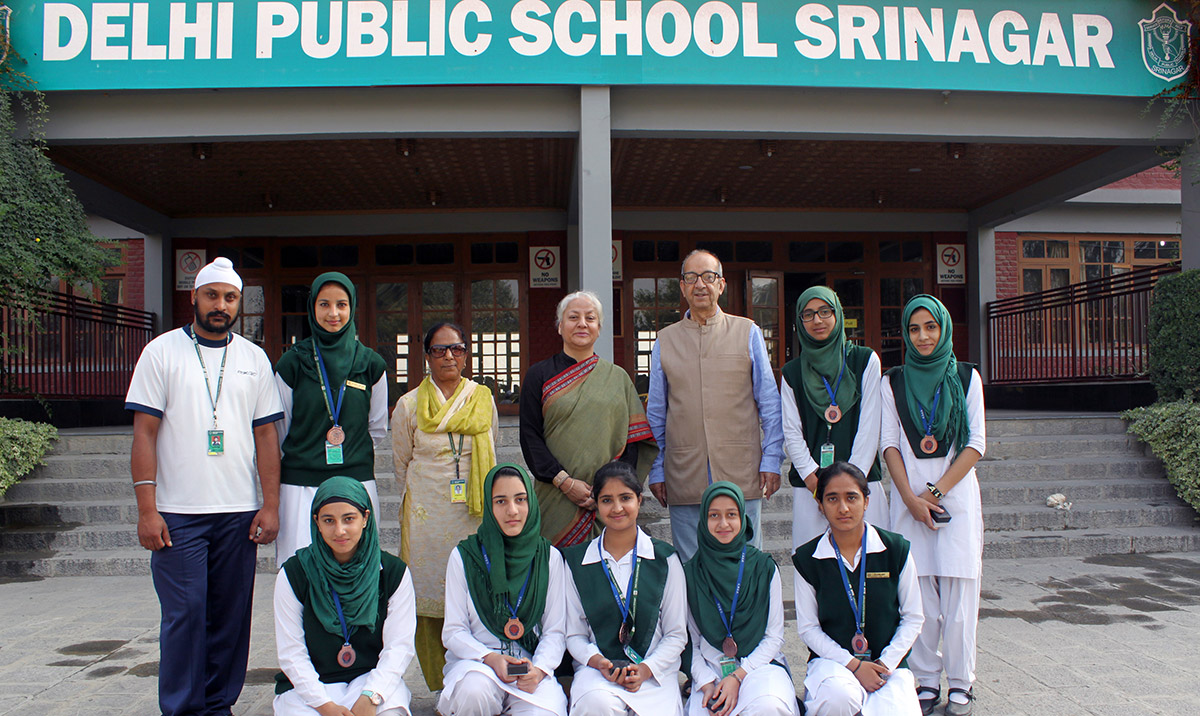 ... Basketball Team finishes at No. 3 - Delhi Public School (DPS) Srinagar