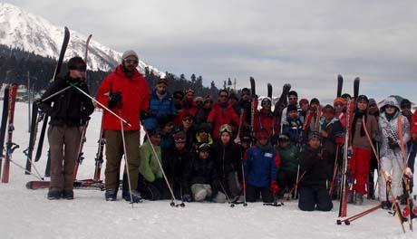 Ski Camps in Winter Break