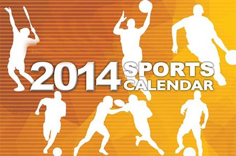 Sports Calendar (3rd to 12th) 2014