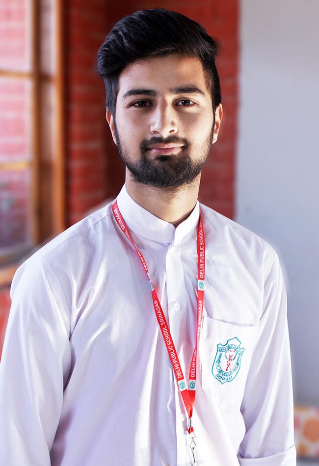 Faiz Khurshid of class 11th selected for UK scholarship