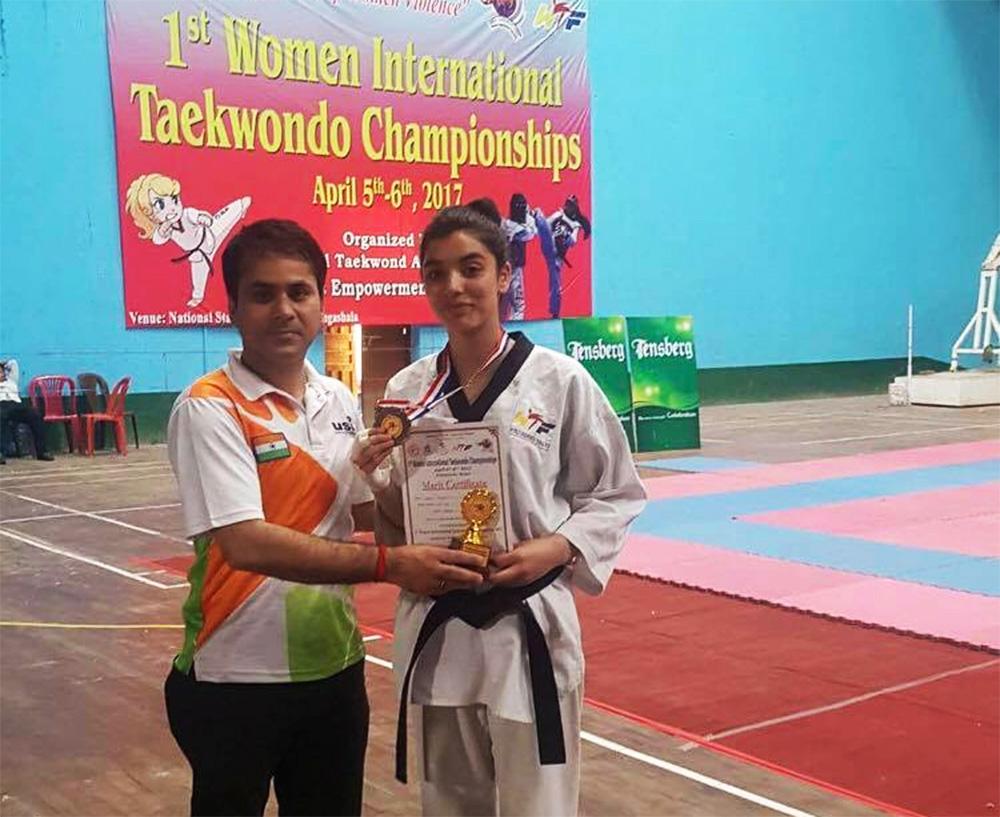 Dipsite bags Bronze in International Taekwondo Championship in Nepal