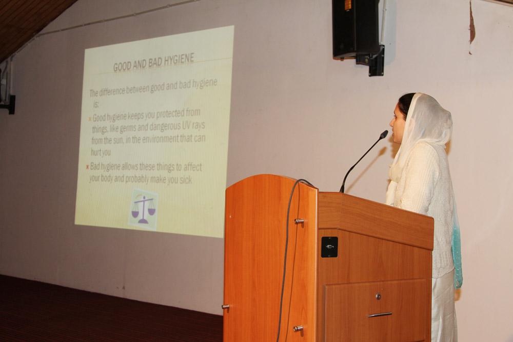 Workshop on Health and Hygiene - Delhi Public School (DPS