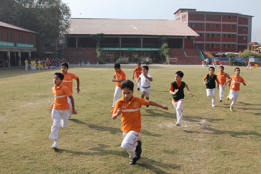 Three day sports event for grades 3rd and 4th held