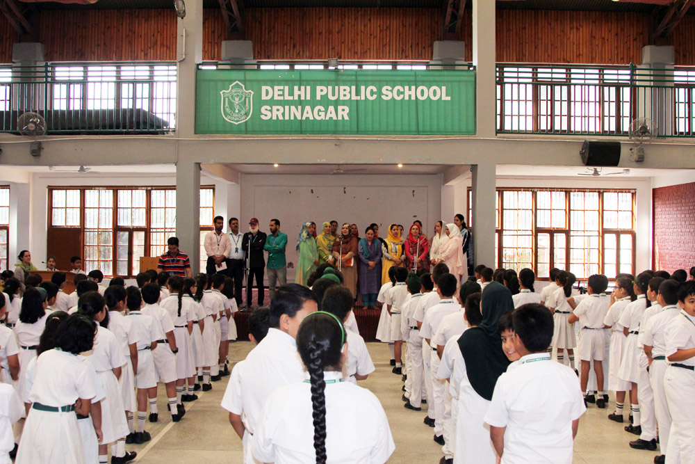 Class 3 And 4 Conducts Special Assembly To Mark Teacher S Day
