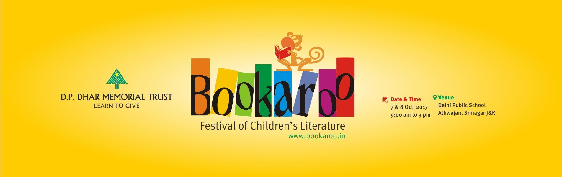 Bookaroo festival to be held in DPS Srinagar from tomorrow.