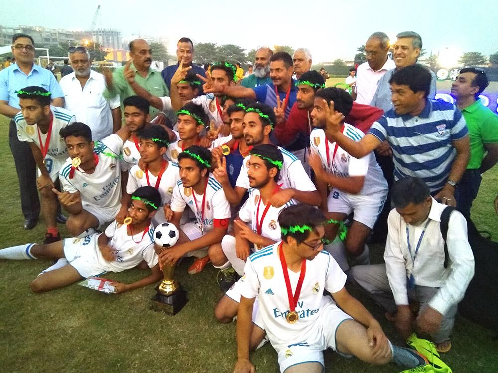 DPS Srinagar wins Zone 1 Inter DPS Football Tournament (Boys Open) 2017
