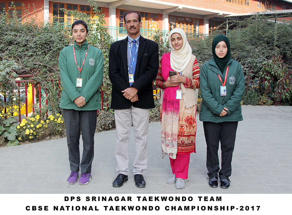 DPS Students shine at CBSE National Taekwondo Competition