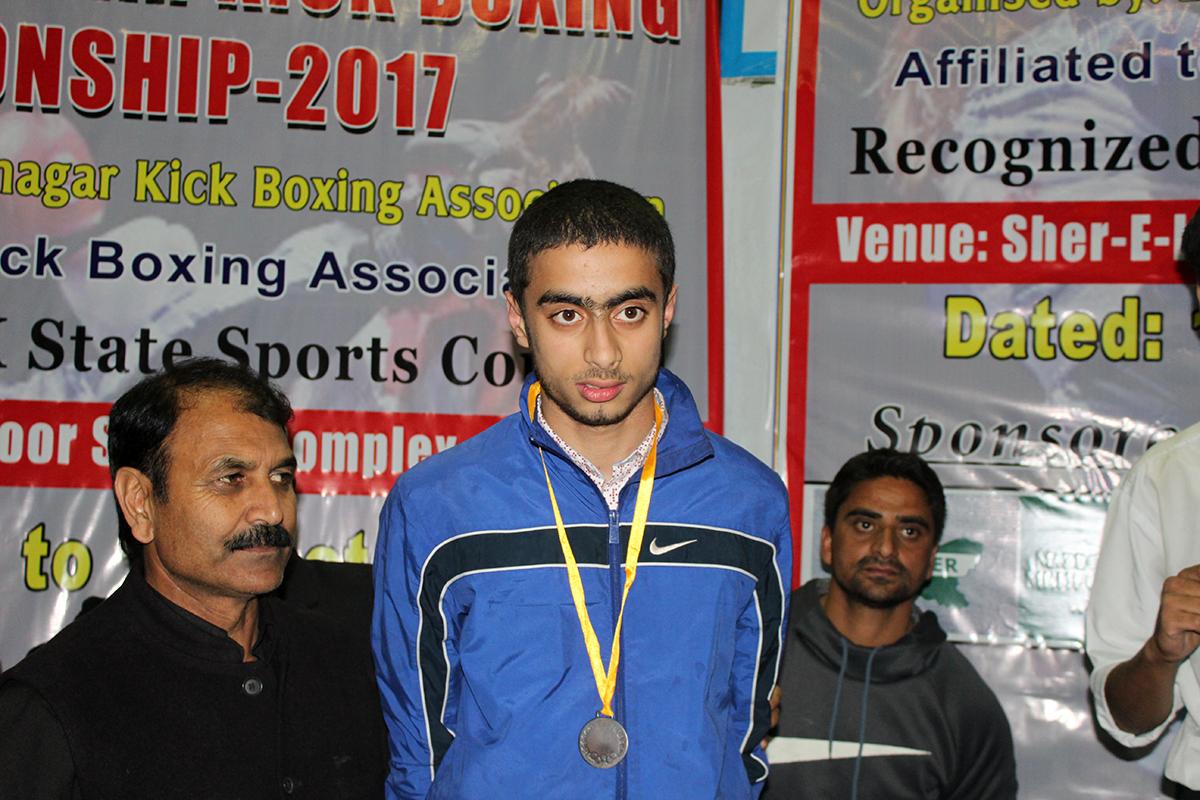 Ayaan Parvaiz wins bronze in Kick boxing