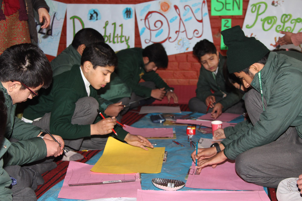 Poster making competition held by SEN