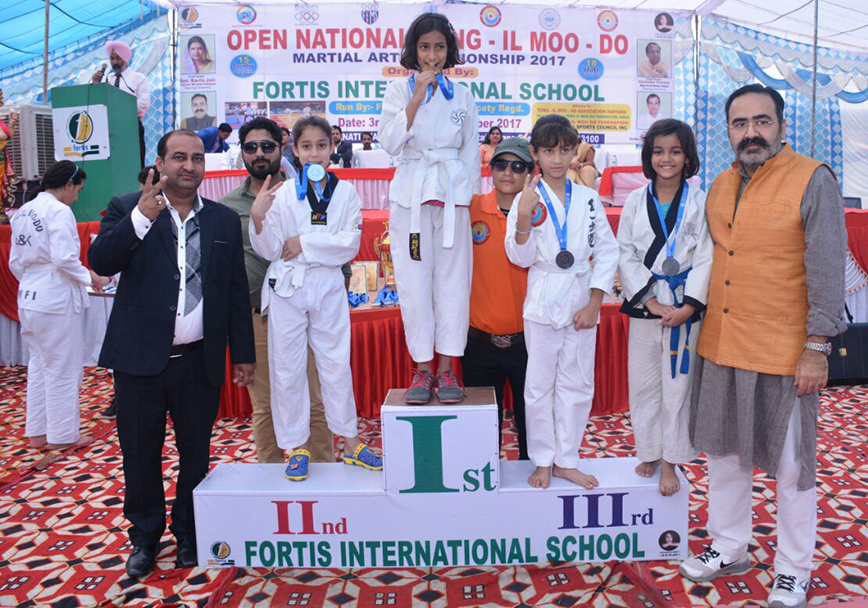 School wins two medals at the National Tong-il moo-do Championship