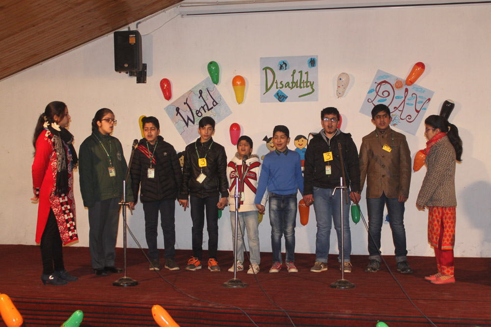 Special Assembly on World Disability Day