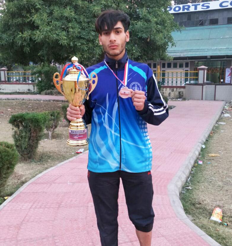 Junaid Zahid wins silver medal in Wushu