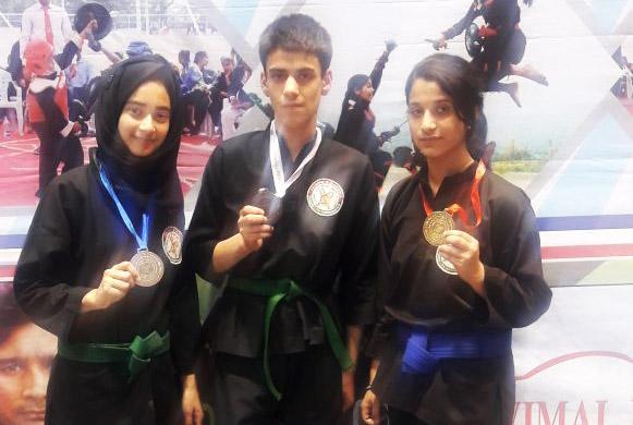 DPS Srinagar wins three medals at Thang Ta Martial Nationals