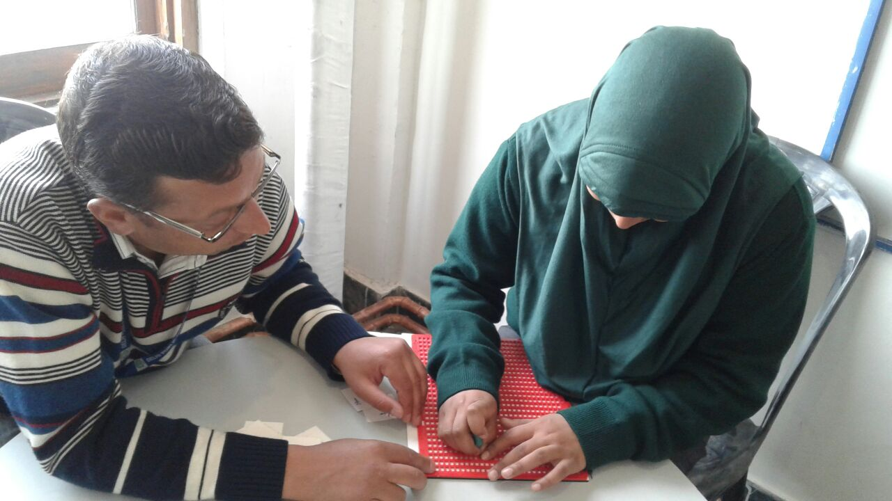 Working with Visually Impaired Students