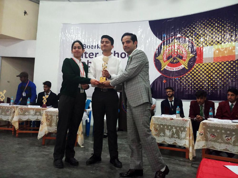 DPS Srinagar wins 'Boerkamp Annual Inter School Debate Competition 2018'
