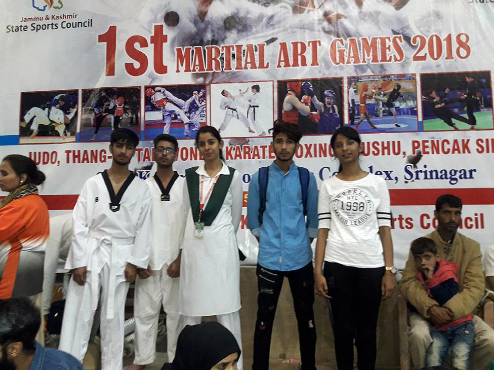 School wins 5 medals in Taekwondo