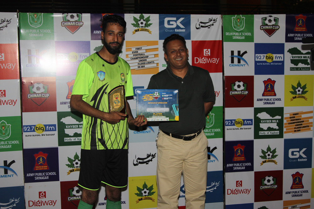 Night Football tournament 'Chinar Cup' throws exciting results