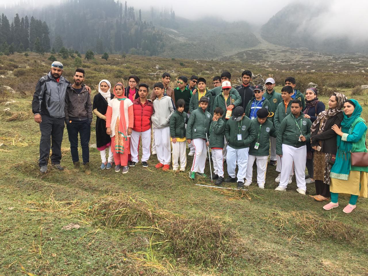 School organises trekking camp for SEN Students