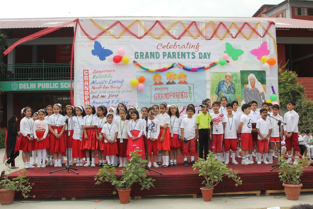Grandparents Day celebrated in School