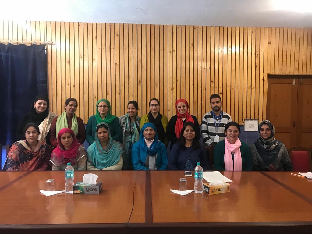 Army School Srinagar Teachers visit school as part of 'Good Practices Program'