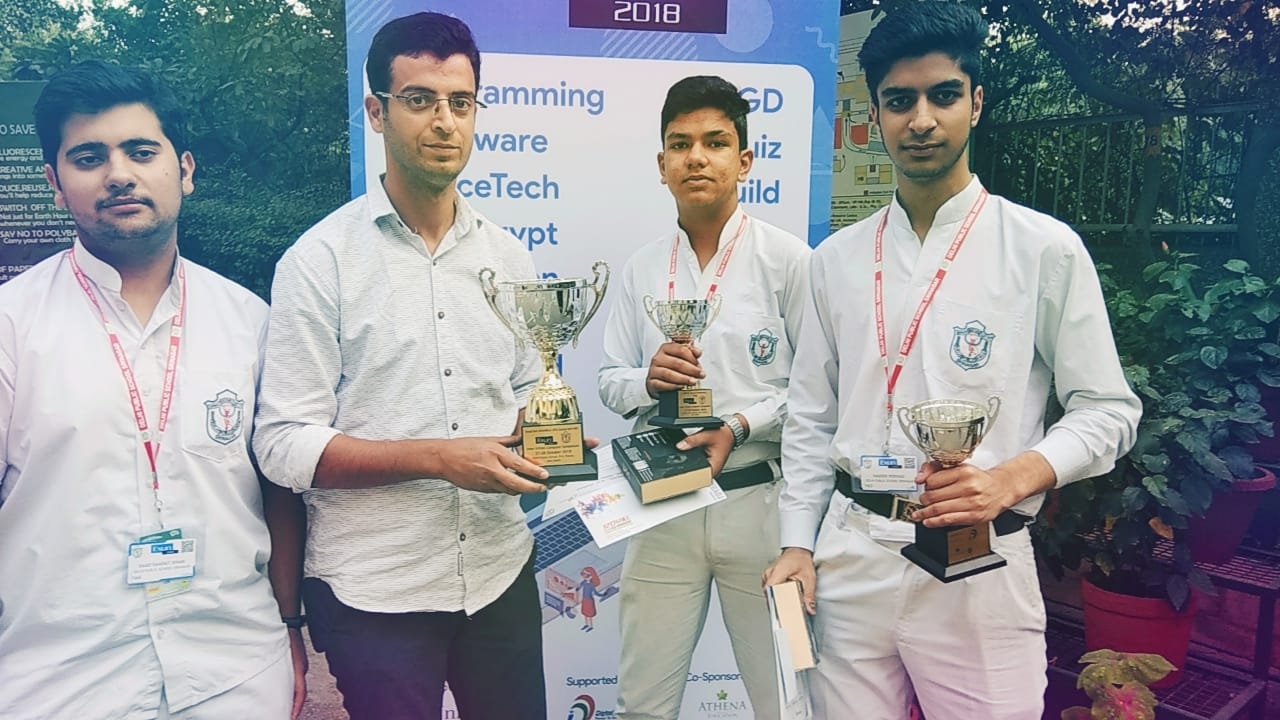 DPS Srinagar wins national robotic challenge