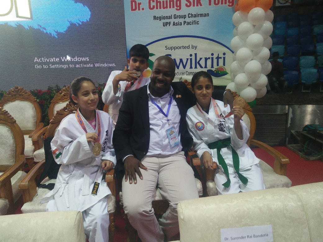 School secures three medals in World Tong il Moo Do