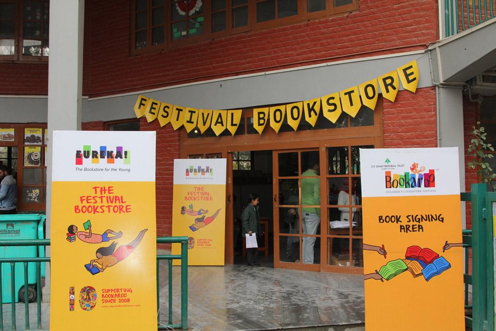 First day of the Children's Literature Festival – Bookaroo held at DPS Srinagar