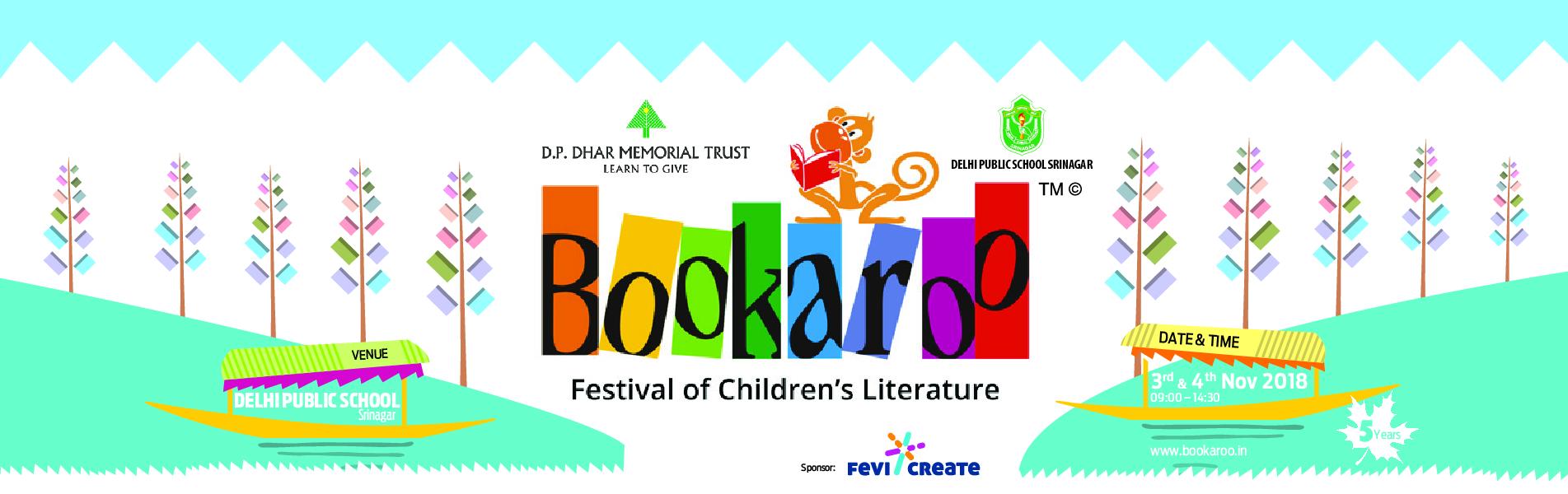 DPS Srinagar brings Bookaroo Children's Literature Festival to Srinagar for the 5th year