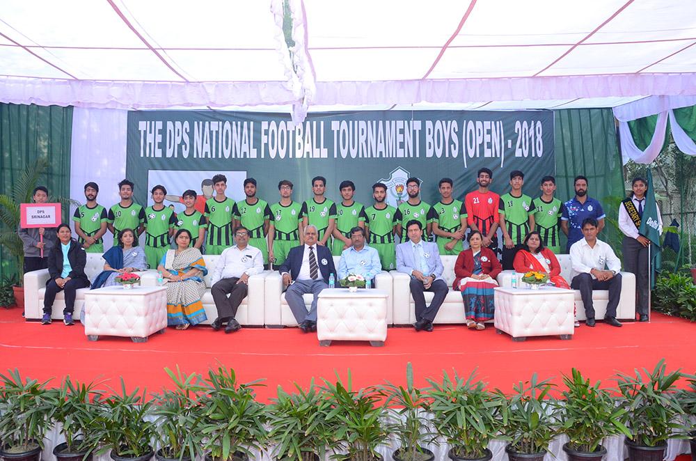 School earns praise at Inter-DPS football tournament at Faridabad