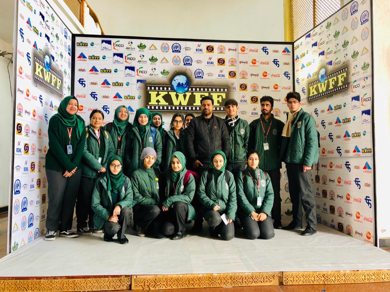 School participates in Kashmir World Film Festival (KWFF)
