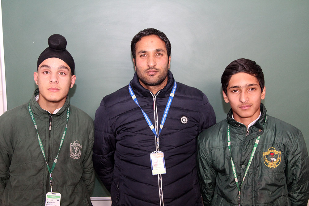 Two students of school selected for U-14 Cricket Nationals