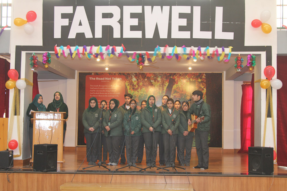 Farewell for the outgoing Class XII, Batch 2018 held