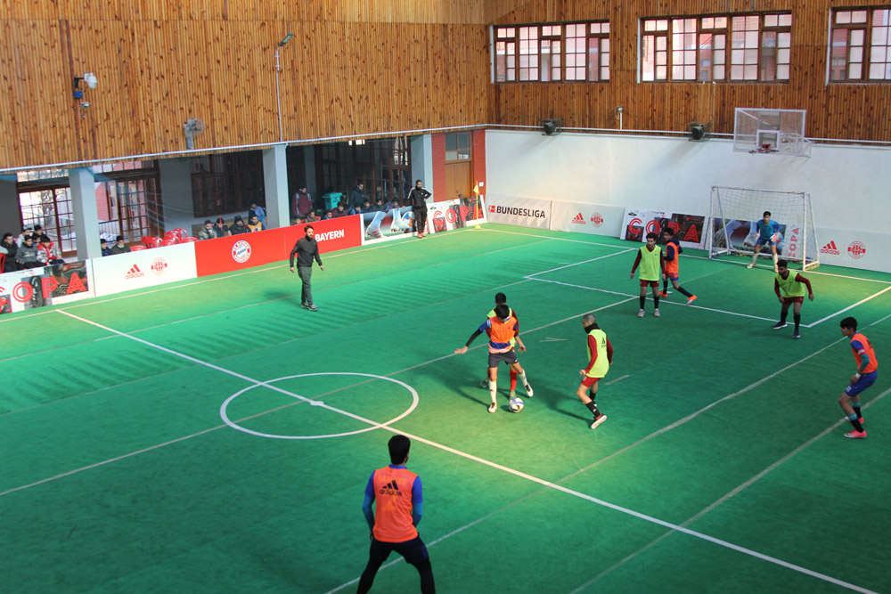 Second day of Bayern FC Youth Cup held
