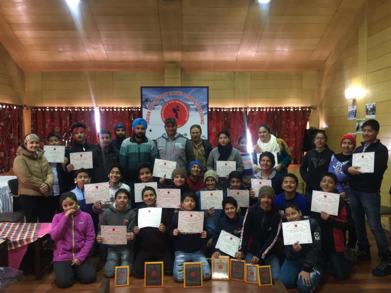 School bags a rich haul in Skiing training courses held at Gulmarg