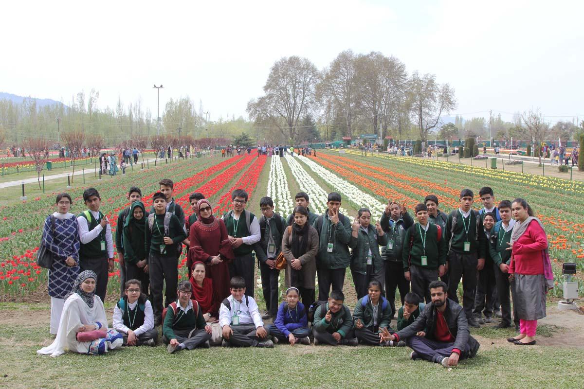 Visit to Tulip Garden by SEN department