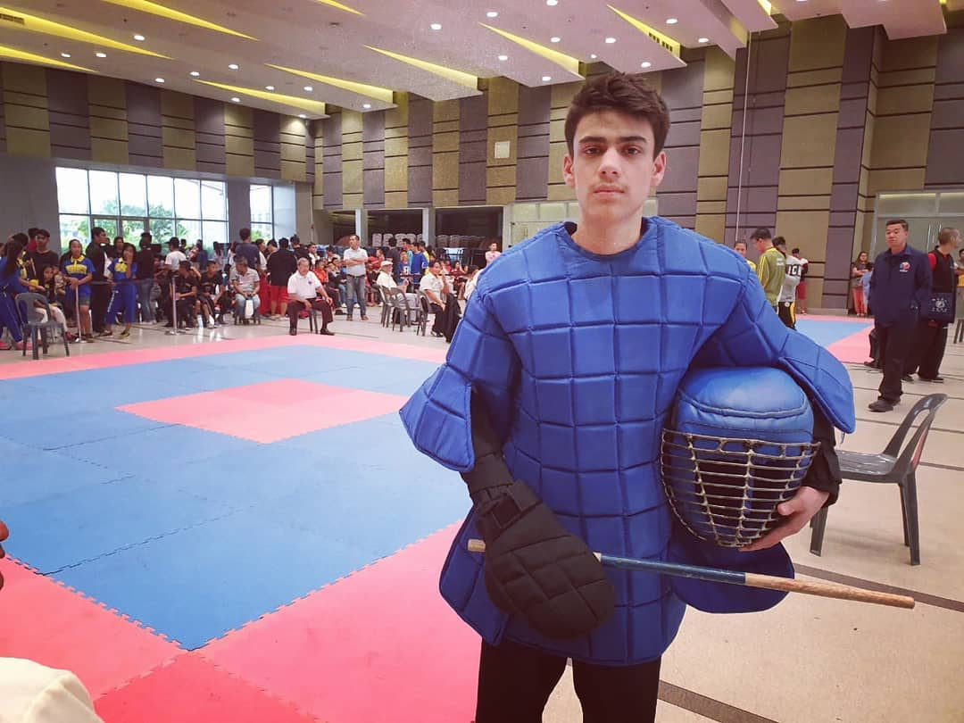 Bariq Pervaze of Class 9th won Silver medal in World Arnis Invitational Championship