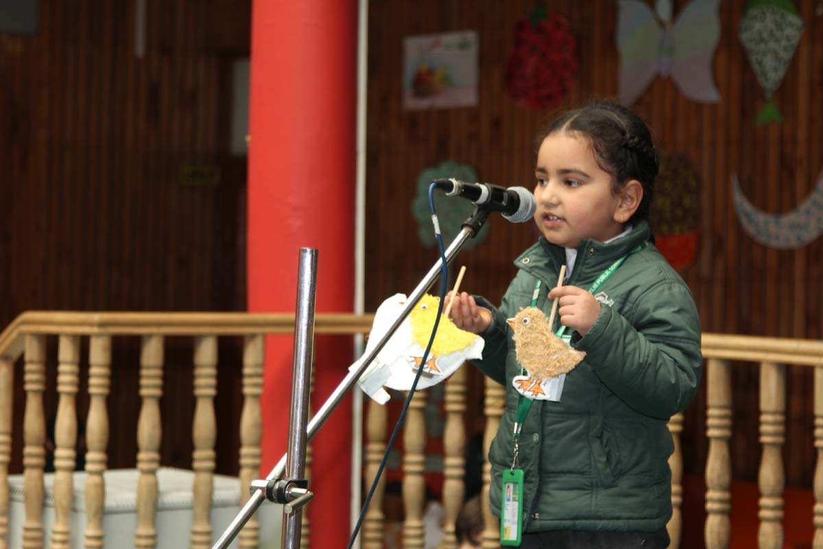 Tiny Tots Holds Urdu Story-Telling Competition