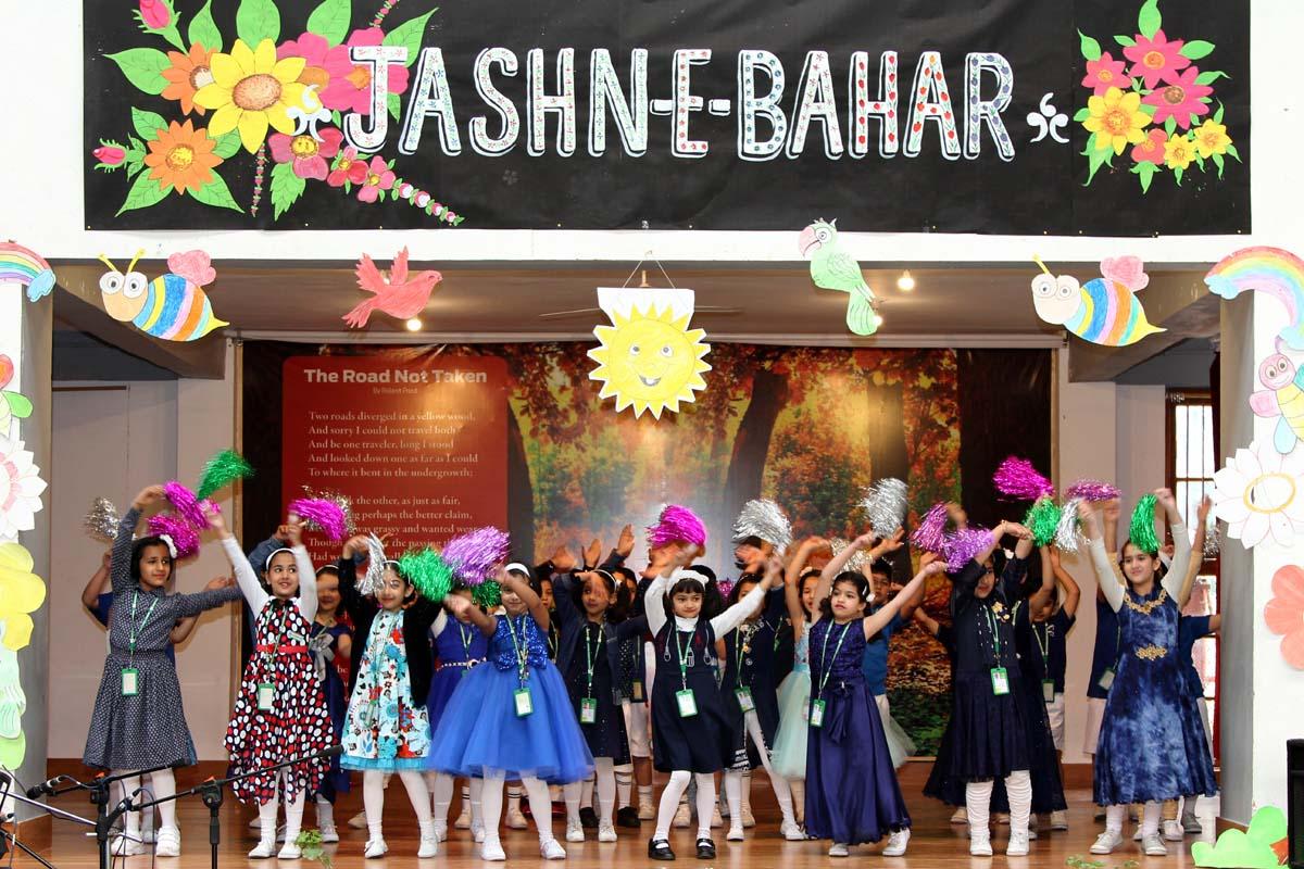 Class 2nd celebrates Jashn-e-Bahar
