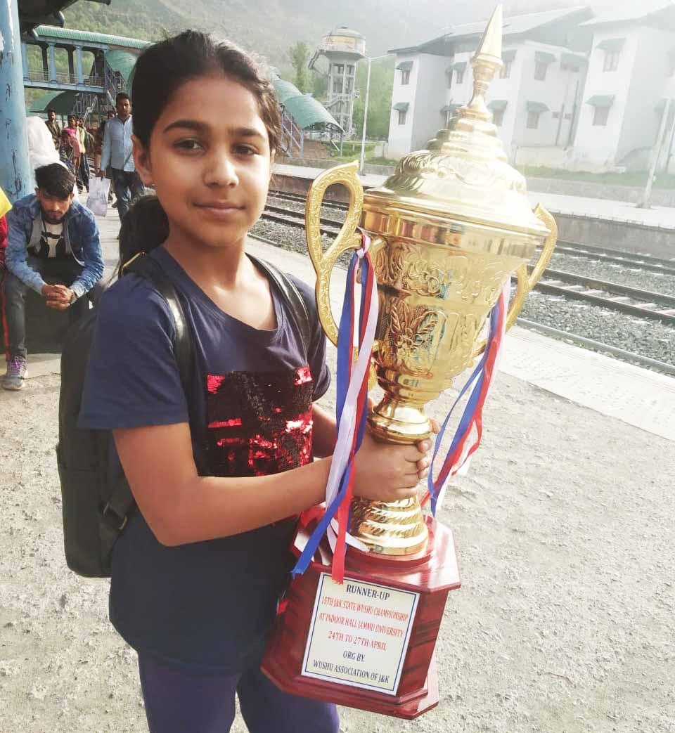 Jamiya Tariq wins silver in Wushu