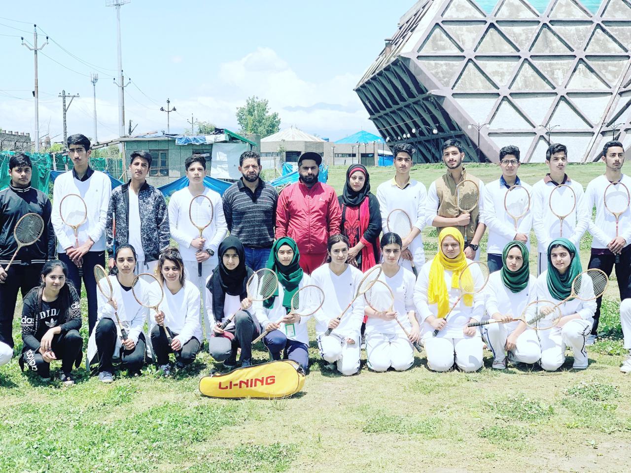DPS Srinagar wins a record haul in Ball Badminton