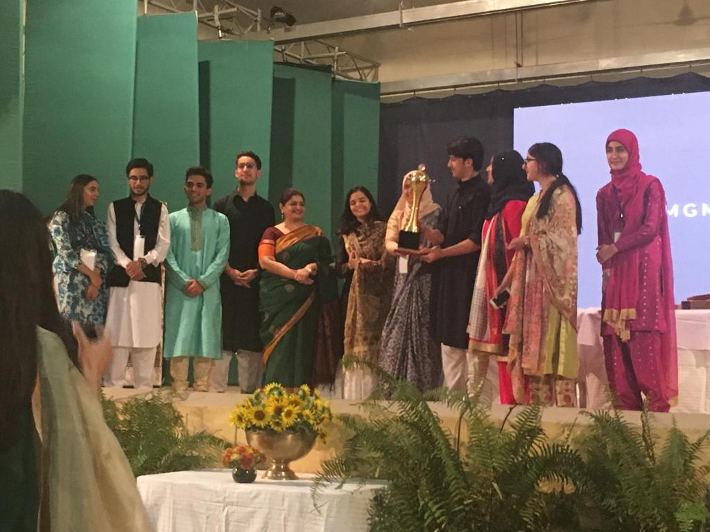 DPS Srinagar wins best delegate trophy at Model United Nations
