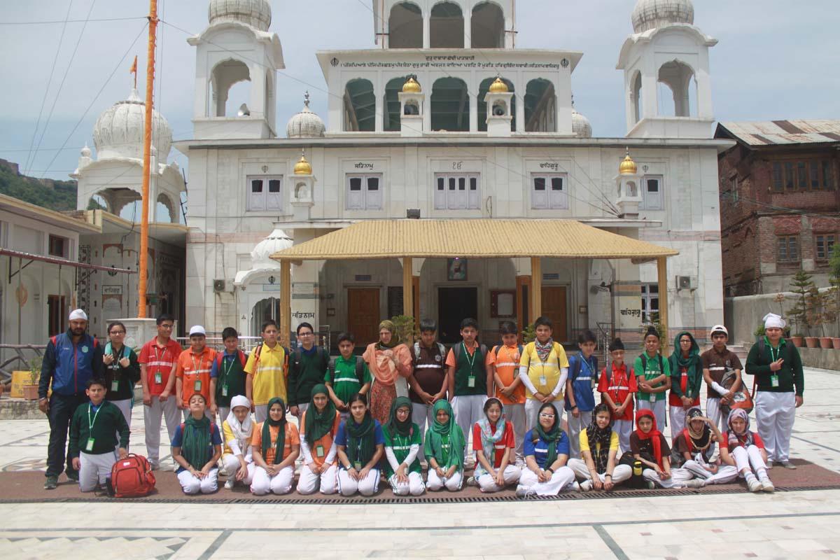 Primary wing students visit Gurudwara Chati Patshahi