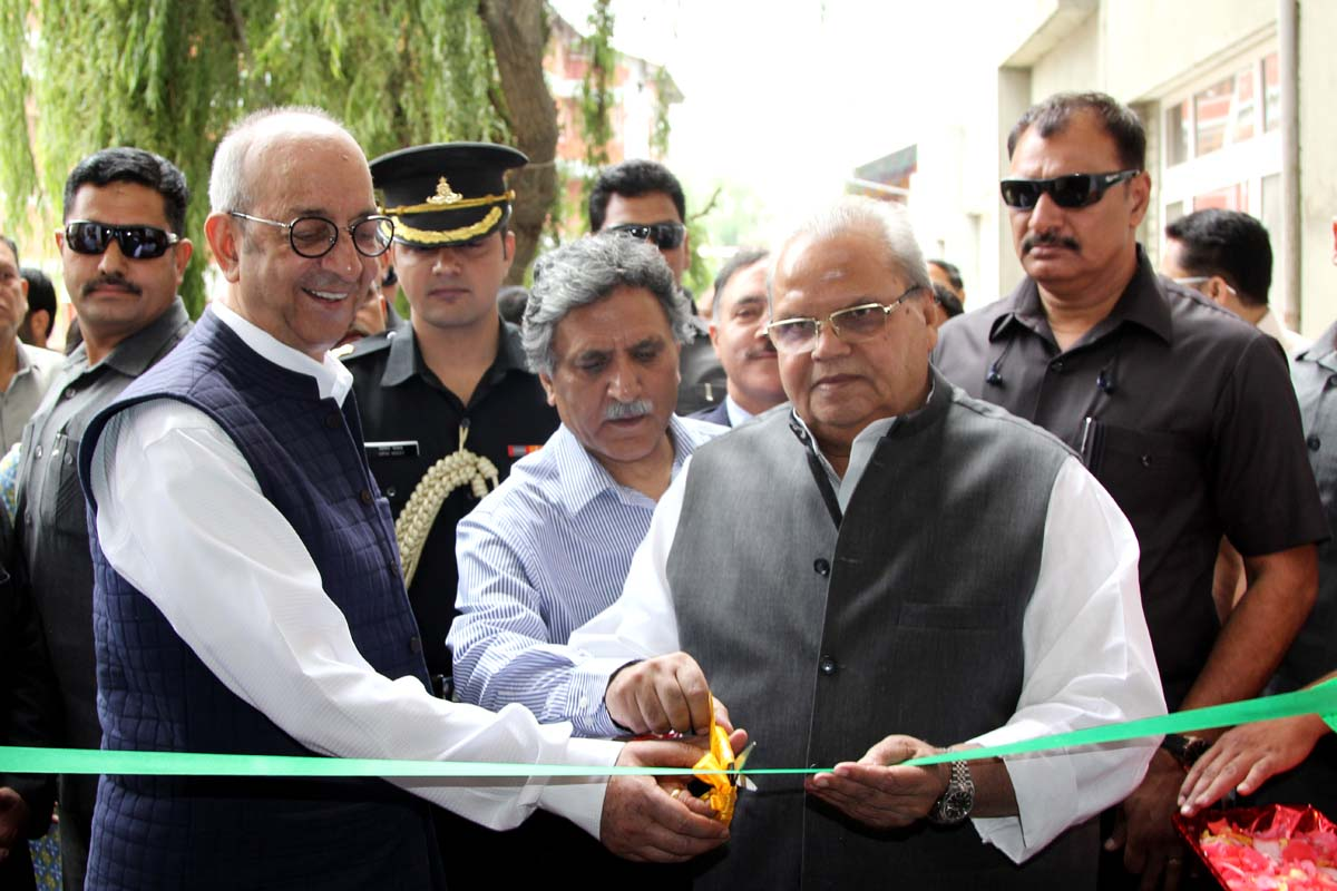 Governor inaugurates the State of the Art Learning Resource Centre