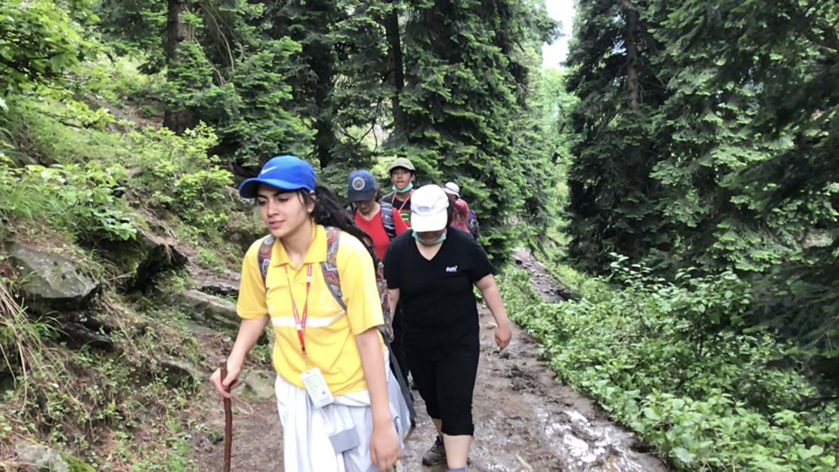 Trekking Camp for Class XII (Girls) conducted